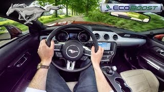Download Ford Mustang EcoBoost POV Test Drive by AutoTopNL Video