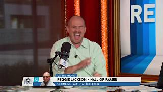 Download Reggie Jackson's Rich Eisen Show Interview Interrupted by a Call from Hal Steinbrenner | 7/19/17 Video