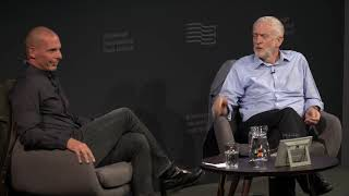 Download Jeremy Corbyn with Yanis Varoufakis at the Edinburgh Book Festival, August 20, 2018 | DiEM25 Video
