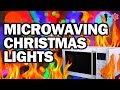Download Microwaving Christmas Lights - Man Vs Science Video