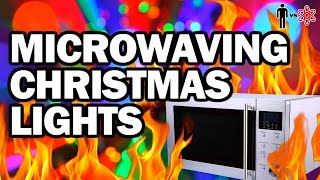 Download Microwaving Christmas Lights - Man Vs Science Video