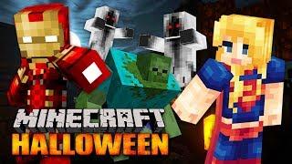 Download MINECRAFT HALLOWEEN SPECIAL!! MINECRAFT w/ MY GIRLFRIEND!! (Minecraft #12) Video