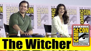 Download Netflix's THE WITCHER | Comic Con 2019 Full Panel (Henry Cavill, Freya Allan, Anya Chalotra) Video