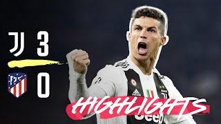Download HIGHLIGHTS: Juventus vs Atletico Madrid - 3-0 - Ronaldo hat-trick completes comeback! Video