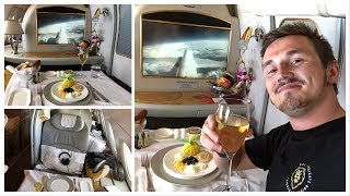 Download FLYING FIRST CLASS with EMIRATES! (Showering on a Plane!) Video