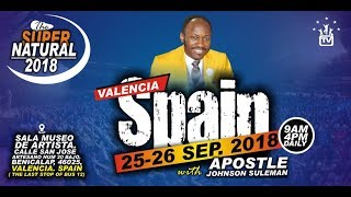 Download The Supernatural, VALENCIA, SPAIN. Day 1 Morning with Apostle Johnson Suleman Video