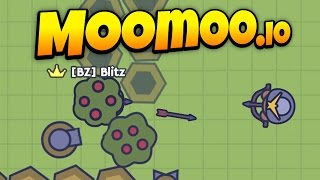 Download MooMoo.io - Awesome Turret Base Defense! - Turret Update! - Let's Play MooMoo.io Gameplay Video