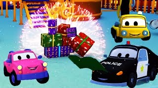 Download The Car Patrol and the Babies waiting for Santa Claus in Car City | CHRISTMAS SPECIAL Video