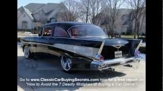 Download 1957 Chevy Bel Air Big Block Classic Muscle Car for Sale in MI Vanguard Motor Sales Video