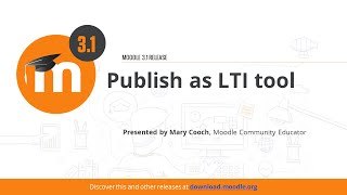 Download Publish as LTI tool in Moodle 3.1 Video