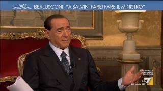 Download Berlusconi, intervista esclusiva: 'A Salvini farei fare il ministro' Video