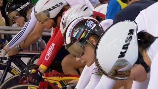 Download Women's Keirin Final - 2014 Track Cycling World Cup | London Video