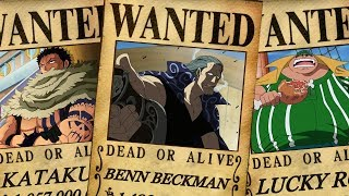 Download One Piece - Top 10 Yonko Commanders Bounties - Predictions/Theory Video