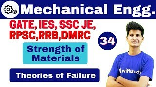 Download 1:40 PM - Mechanical by Neeraj Sir | Day #34 | Strength of Materials | Theories of Failure Video