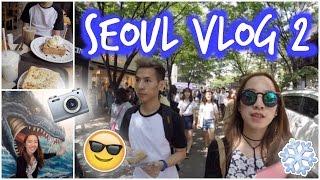 Download Seoul ✈ Korea VLOG #2 Hongdae, 3D Trickeye Museum, Ice Museum, Hongik University area Video