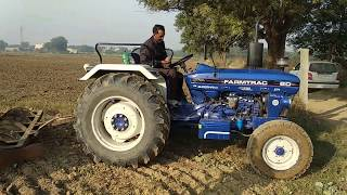 Download Farmtrack 60 t20 tractor best average in the field Video