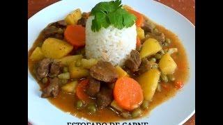 Download RECETA: ESTOFADO DE CARNE CON ARROZ - Silvana Cocina y Manualidades Video