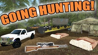 Download FARMING SIMULATOR 2017/ THE HUNTER | GOING HUNTING! + SHOOTING A RED FOX! Video