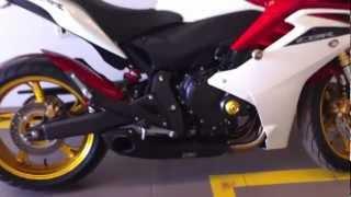 Download Cbr600f com escape Cs Racing Video