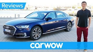 Download New Audi A8 2018 review - the most high-tech car ever? Video