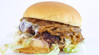 Download Sweet Onion Burgers and Vinegar Oven Fries Video