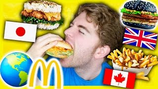 Download TASTING MCDONALDS FROM AROUND THE WORLD Video