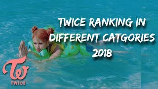 Download TWICE RANKING IN DIFFERENT CATEGORIES 2018 Video