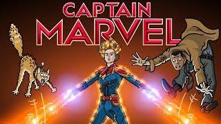 Download Captain Marvel Trailer Spoof - TOON SANDWICH Video