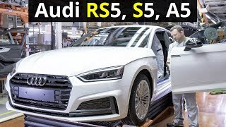 Download 2018 Audi RS5, S5, A5, Q2 Production Video