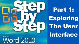 Download Exploring Microsoft Word 2010 User Interface - Part 1 Video