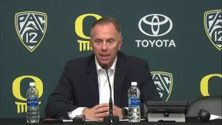 Download Rob Mullens Press Conference After Firing Mark Helfrich 11-29-16 Video