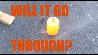Download 20 kilograms of red hot steel vs. frozen lake Video