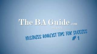Download Own Your Conference Call - Business Analyst Tips for Success #1 Video