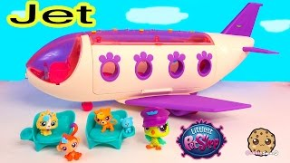 Download LPS Airplan JET Playset Littlest Pet Shop Exclusive Bobbleheads Toy Unboxing Video - Cookieswirlc Video