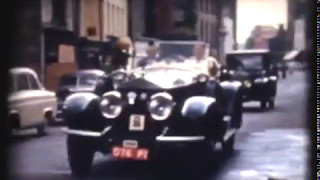 Download Vintage cars in Youghal, Co. Cork. Date 1950/60s Video