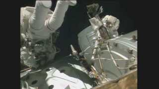 Download NASA Astronauts Conduct Space Walk To Make Important Repairs On International Space Station Video