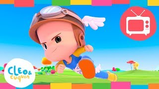 Download CLEO & CUQUIN - POWER UP. (S1 - Ep4) Full Episodes. Nick Jr I Cartoon For Kids Video