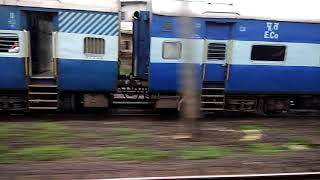 Download Ltt Vskp exp chasing Pune Intercity sf exp. Video