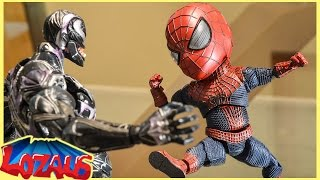 Download BABY SPIDERMAN Stop Motion Video with Pikachu & Venom Video