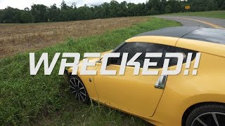Download I WRECKED MY Nissan 370Z (and caught it on camera) Video