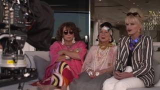 Download Absolutely Fabulous: The Movie: Behind the Scenes Movie Broll - Jennifer Saunders Video