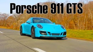 Download Porsche 911 Carrera GTS 911.2 drive and drag race vs Carrera 4S Video