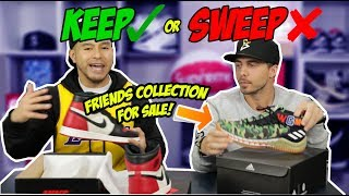 Download KEEP OR SWEEP ON FRIENDS HEAT COLLECTION!! Video