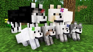 Download WOLF LIFE MOVIE | Cubic Minecraft Animations | All Episodes + BONUS Video