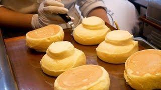 Download Fresh Fruit Souffle Pancake in Korea Video