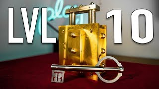 Download Solving THE HARDEST Lock Puzzle in HISTORY!! - LEVEL 10 Video
