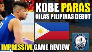 Download Kobe Paras Game Review | FUTURE of GILAS | Jones Cup 2017 ᴴᴰ Video