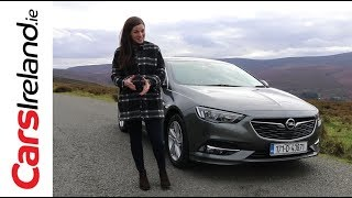 Download Opel (Vauxhall) Insignia Grand Sport Review | CarsIreland.ie Video