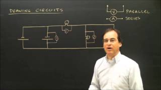 Download Drawing Electric Circuits With Volt Meters and Ammeters Video