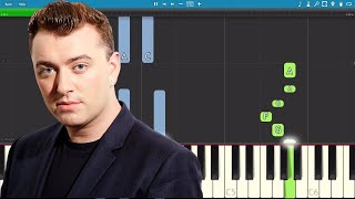 Download Sam Smith - Too Good At Goodbyes - Piano Tutorial - How To Play Video